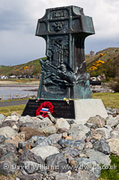 Cruiser Varyag monument, Lendalfoot.